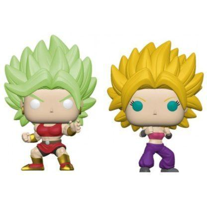 Figurines Pop SS Kale & SS Caulifla (Dragon Ball Super)